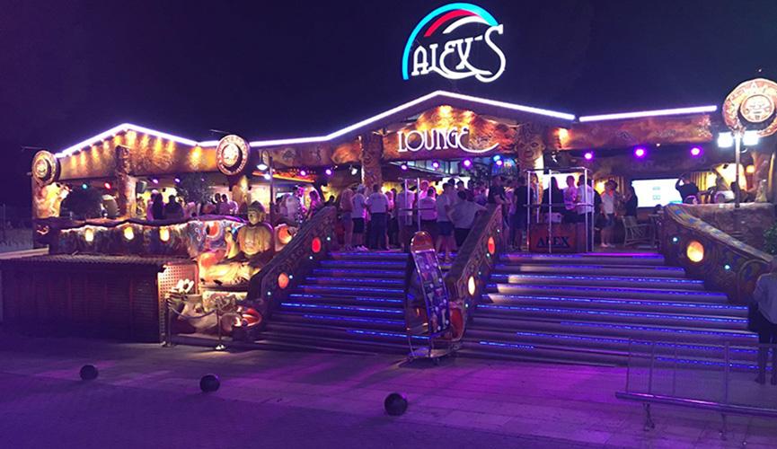 Alexs strip club